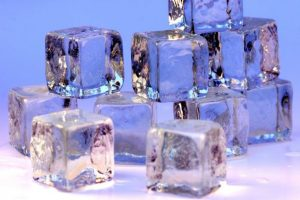 gout relief using ice packs