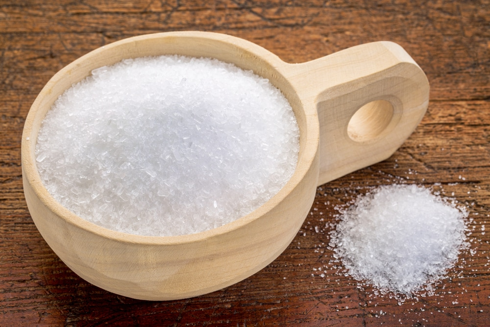 Epsom salts are said to be good for gout.